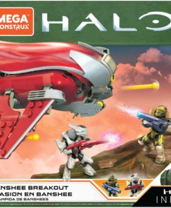Halo Infinite Mega Construx Pro Builders Construction Set Banshee Breakout