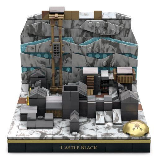 Game of Thrones Mega Construx Black Series Construction Set Castle Black