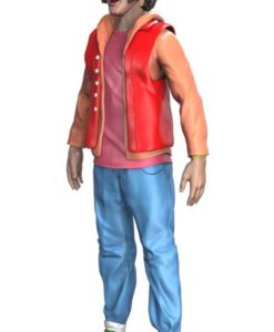 Bill & Ted's Bogus Journey FigBiz Action Figure Ted 'Theodore' Logan, III 13 cm