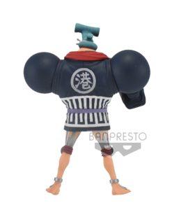 One Piece DXF Grandline Men PVC Statue Franky (Wano Kuni) 17 cm
