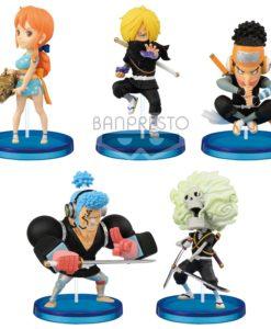 One Piece WCF ChiBi PVC Statues 7 cm Assortment Wanokuni Style 2 (12)