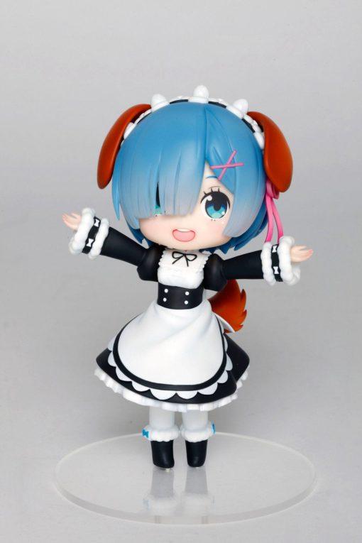 Re:Zero PVC Statue Rem Doll Crystal Dog Ears Version 14 cm