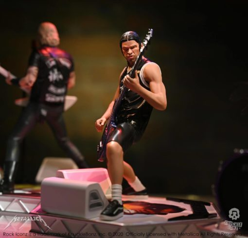 Metallica Rock Iconz Statue Robert Trujillo Limited Edition 22 cm