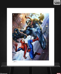 Marvel Art Print Spider-Man vs Venom 46 x 61 cm - unframed