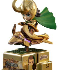 Marvel Comics CosRider Mini Figure with Sound & Light Up Loki 15 cm