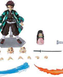 Demon Slayer: Kimetsu no Yaiba Figma Action Figure Tanjiro Kamado DX Edition 13 cm