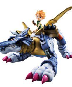 Digimon Adventure Precious G.E.M. Series PVC Statue Metal Garurumon & Ishida Yamato 30 cm