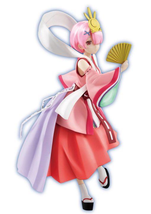 Re:ZERO SSS PVC Statue Fairy Tale Ram Princess Kaguya Pearl Color Ver. 21 cm