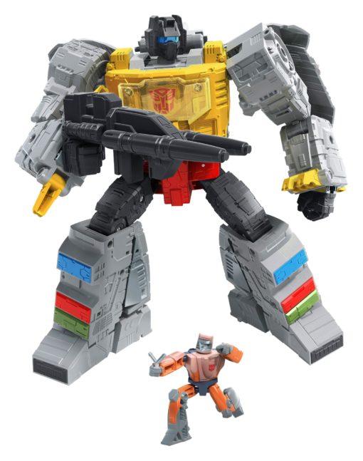 Transformers Studio Series Leader Class Action Figure 2021 Wave 1 Grimlock & Autobot Wheelie