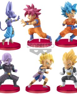Dragon Ball Super WCF ChiBi PVC Statues 7 cm Assortment Battle of Saiyans (12)