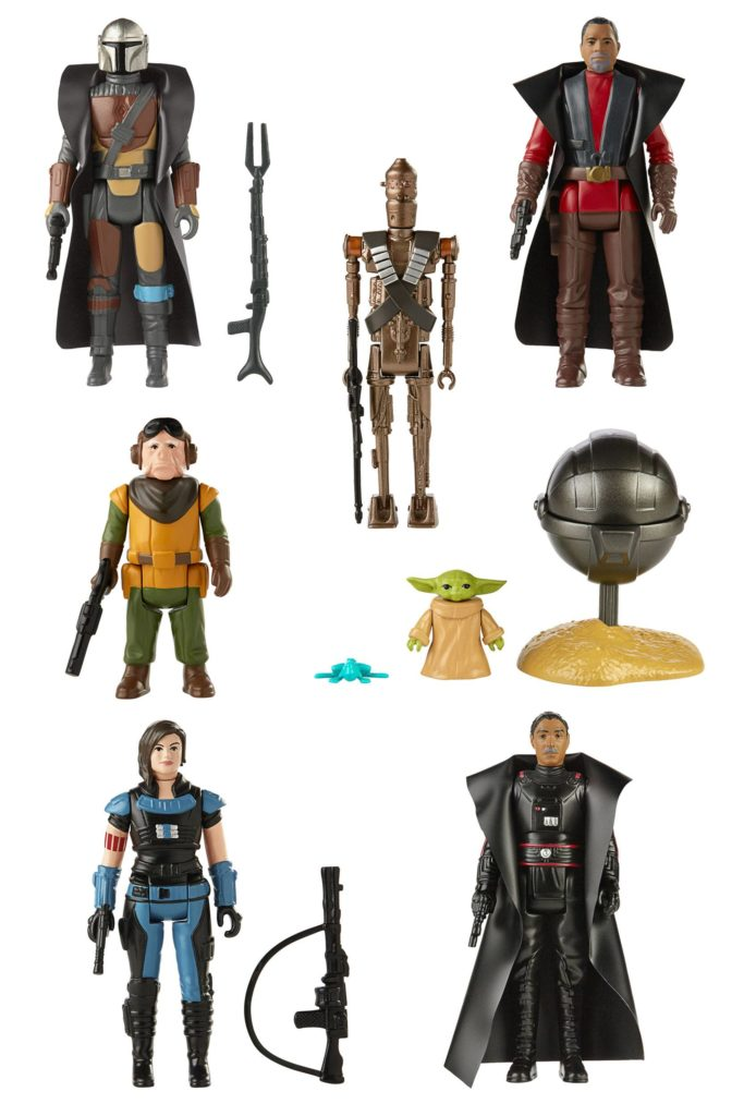 Star Wars The Mandalorian Retro Collection Action Figures 10 cm Assortment 2021 (8)