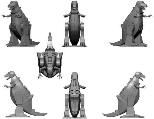 Transformers PVC Statue Grimlock 23 cm