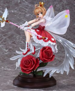 Cardcaptor Sakura: Clear Card PVC Statue 1/7 Sakura Kinomoto Rocket Beat Ver. 28 cm