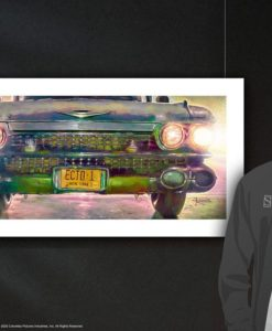 Ghostbusters Art Print Ecto-1 46 x 61 cm - unframed