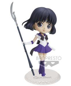 Sailor Moon Eternal The Movie Q Posket Mini Figure Super Sailor Saturn Ver. A 14 cm