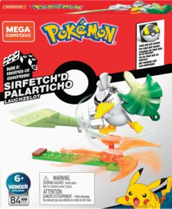 Pokémon Mega Construx Wonder Builders Construction Set Sirfetch'd 10 cm